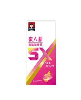 桂格5X蜜人蔘精華飲