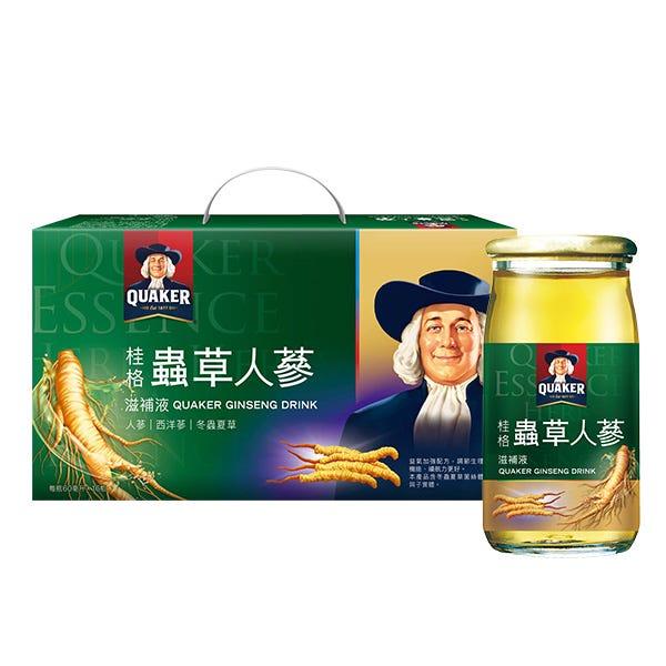 桂格蟲草養氣人蔘60MLX16瓶