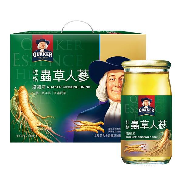桂格冬蟲夏草養氣人蔘60mlX30瓶