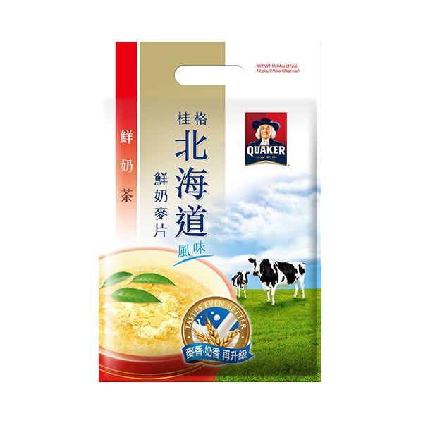 桂格奶茶北海道麥片26gX12包
