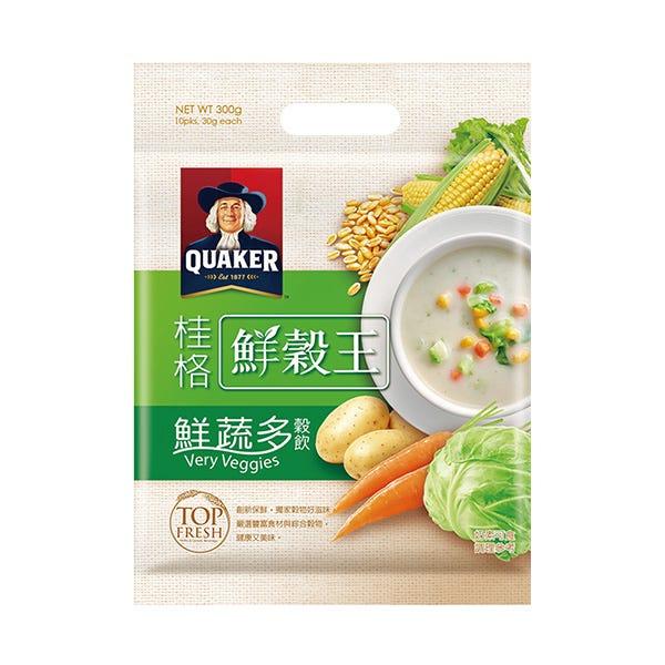 桂格鮮蔬多鮮穀王袋裝30gX10包