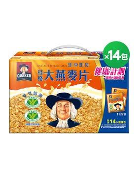 桂格大燕麥片隨身包 37.5gX14包