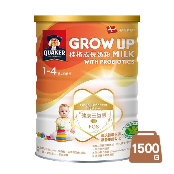 桂格三益菌成長奶粉1500gX1罐