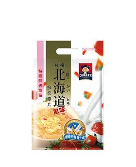 草莓北海道麥片
