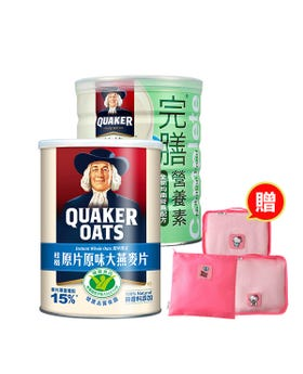 完膳均衡粉X2罐+原片大燕麥片