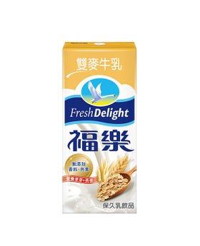 福樂保久乳飲品雙麥牛乳