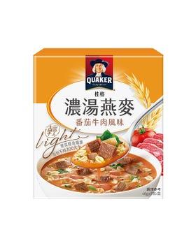 桂格濃湯燕麥-番茄牛肉