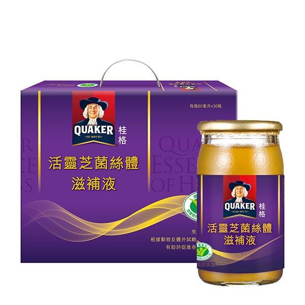 桂格活靈芝菌絲體60mlX30瓶