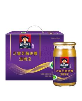 佳格健康GO|桂格活靈芝菌絲體30瓶