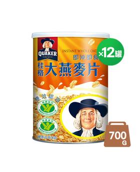 即食大燕麥片12罐