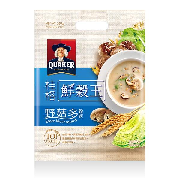 桂格野菇多鮮穀王袋裝26gX10包