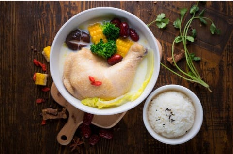 人蔘雞,夏天比冬天吃更棒!