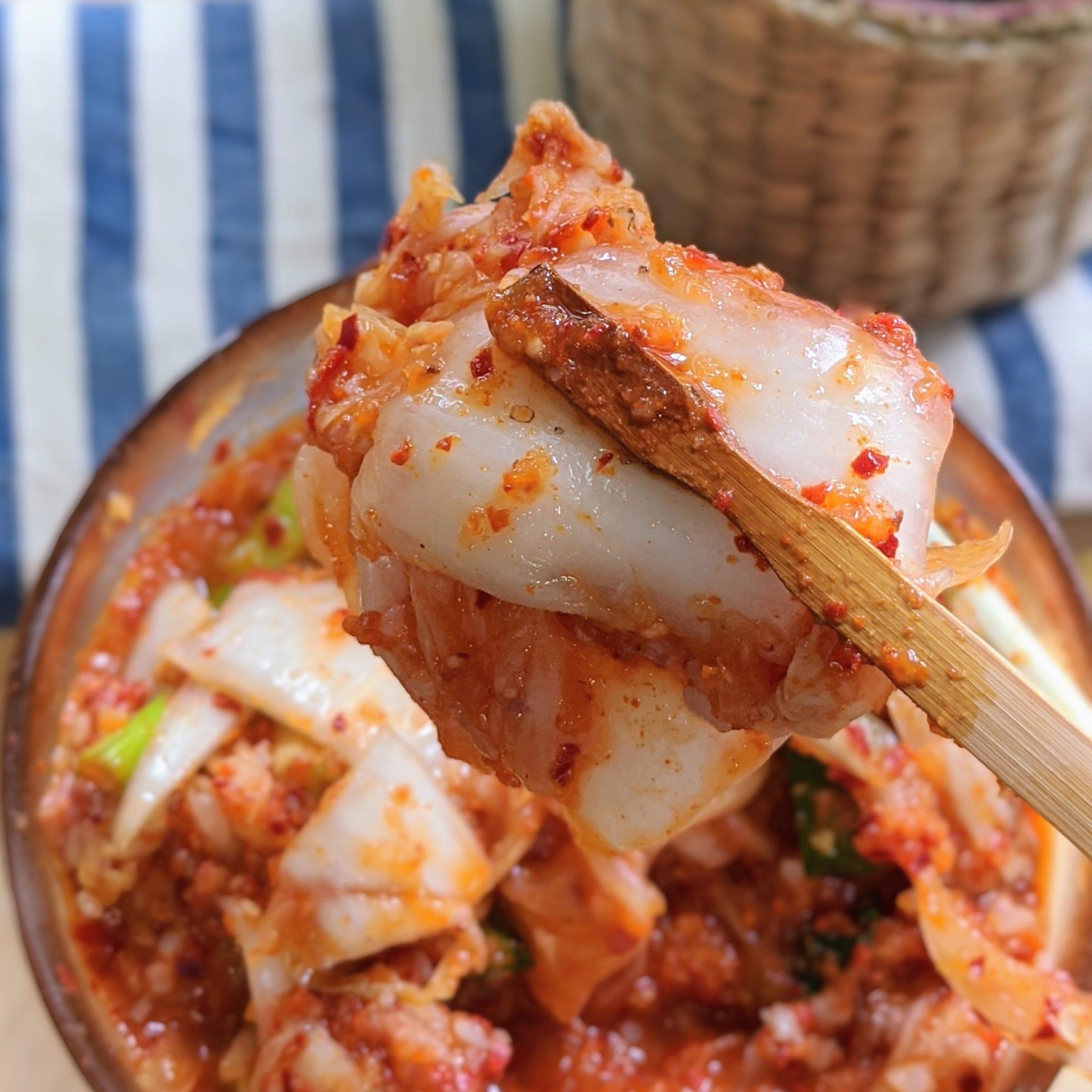韓國媽媽教我的:家鄉「生」泡菜,新鮮、健康上桌!